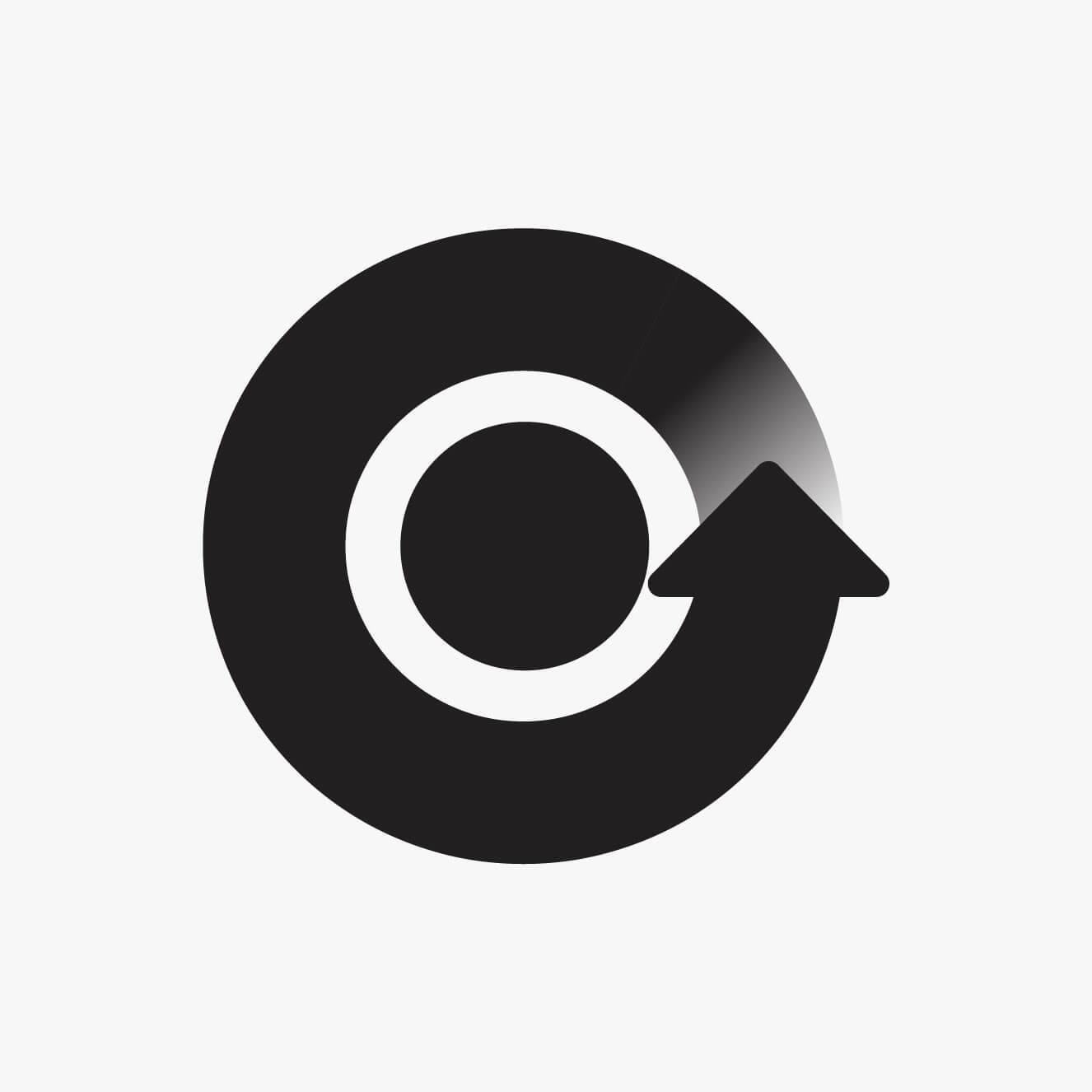 Download mark, black